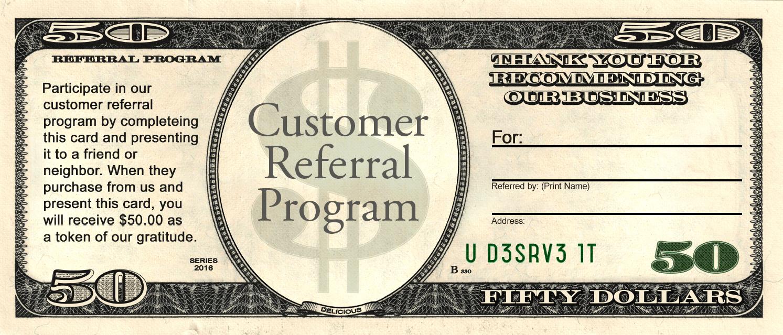 Referral Card