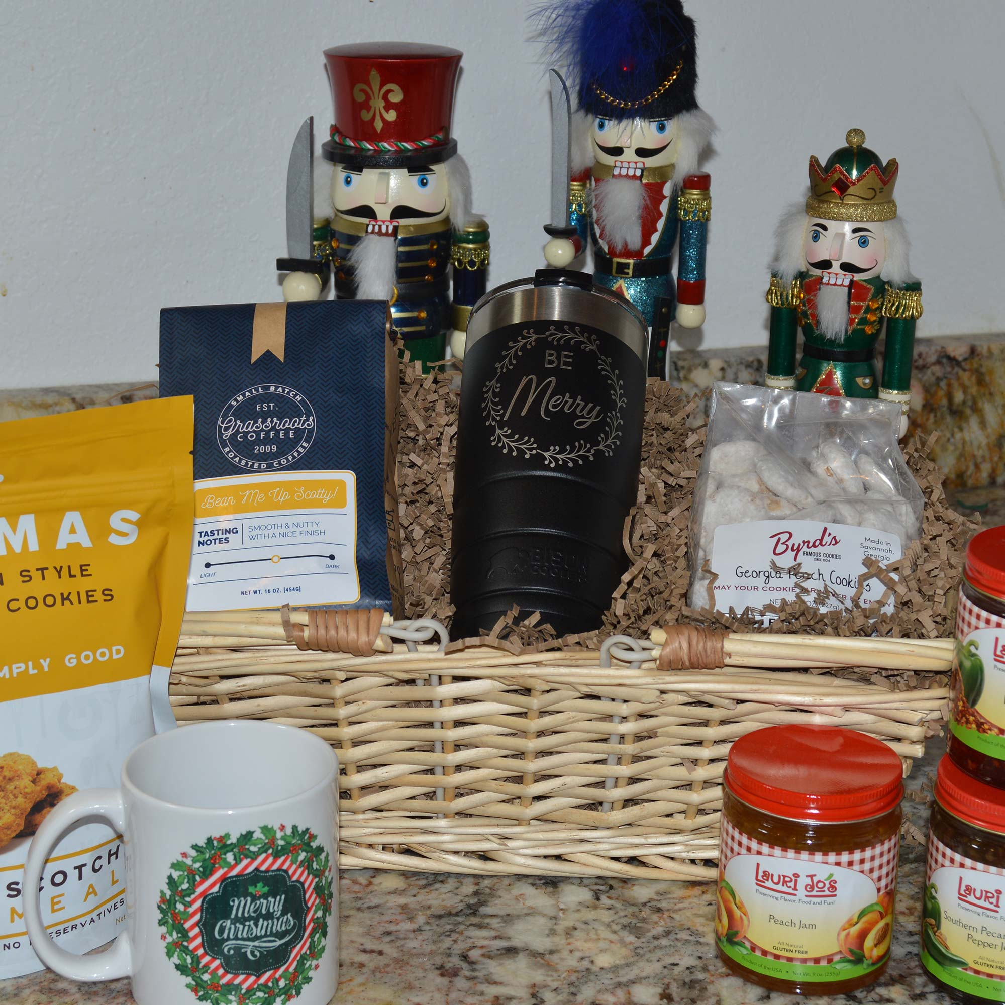 Don\'t Be a Grinch Gift Basket of Gourmet Goodies - UdeserveAcookie!